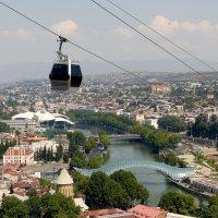 Тбилиси. Вид с горы Мтацминда. :: Игорь