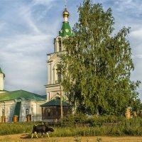 Богоявленская церковь.Удмуртия,с.Нечкино :: Татьяна Белоусова