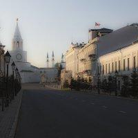 Казанский кремль в лучах заката. :: Сергей Корнилов