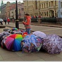 девушка и зонтики :: Татьяна Осипова(Deni2048)