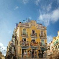 Веселый такой дом в старинном г. Таррагона. :: Надежда