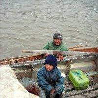 Дедушка и внук :: Стрючков Станислав