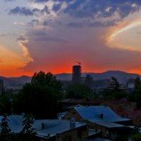 Люблю заката дивные свечения... :: Наталья Джикидзе (Берёзина)