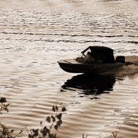 Вечером на реке Татьянке :: Арсений Корицкий