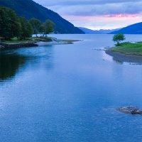 Закат над Nordfjord :: Юрий Вайсенблюм