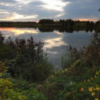 Вечер на реке. :: Hаталья Беклова