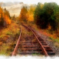 Дорога в осень... :: Руслан Горячев