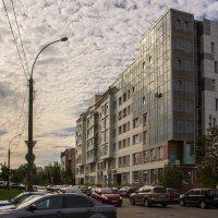 Взгляд от фонаря... на бизнес-центр) :: Татьяна Копосова
