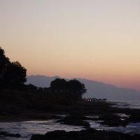 Закат на Средиземном море :: Gennadiy Karasev