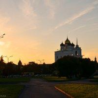 Закат над Псковом :: demyanikita