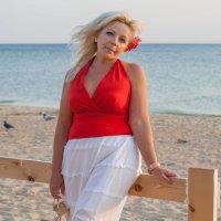 На пляже :: Аня Ушакова