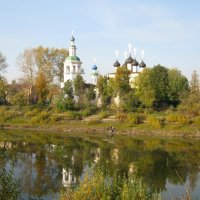Церковь Дмитрия Прилуцкого на Наволоке :: irina