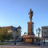 Памятник Александру III в парке Городское начало :: Георгий Муравьев