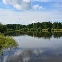 гладь реки Кан :: Juliya Gapchuk