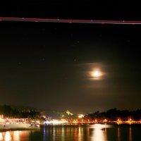Вечерний рейс над южной луной :: Юрий Савинский