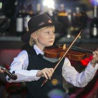 юный скрипач... :: Лариса