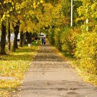 Осенний город. :: Виктор Евстратов