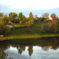 вечер на реке :: Сергей Кочнев