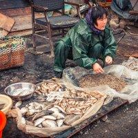 торговка рыбой :: Татьяна Исаева-Каштанова