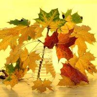 Букет из листьев :: Татьяна Беляева