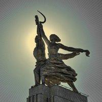 «Рабочий и колхозница» :: Анастасия Смирнова