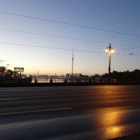 Утро. Ушаковский мост :: Владимир Гилясев