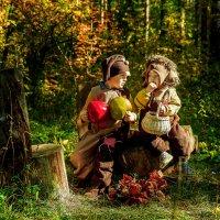 Маленькие тролли. :: Люба Забелкина