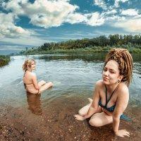 На природе, река Сакмара :: Андрей Косых