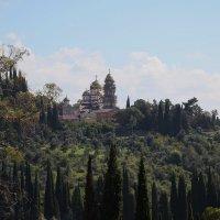 Симона Кананитский Ново-Афонский монастырь :: Андрей Lyz