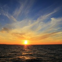 Морской закат 2 :: Александр Moryak 34