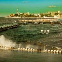 Владивосток. Осенний шторм. :: Михаил Назаров