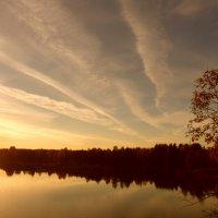 Полосатый закат :: Яна Ягнюк