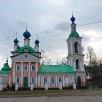 Церковь Царевича Димитрия «на поле» в Угличе :: Galina Leskova