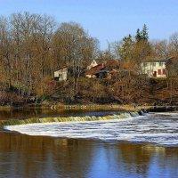 Vodopad reki Venta. Latvija :: Daiga Megne