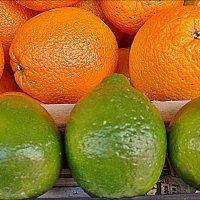 Лимонно-апельсиновые контрасты :: Нина Корешкова