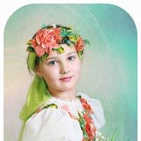 Девочка с ландышами :: Римма Алеева