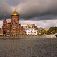 Церковь Богоявления Господня на Гутуевском острове 1899г :: Валентин Яруллин