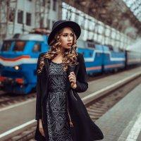 At the railway station :: Георгий Чернядьев