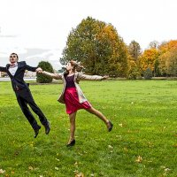 Мы так счастливы,что хочется летать. :: Александр Лейкум