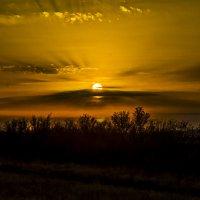 Закат на перевале Кордай :: Дмитрий Потапкин