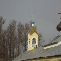 Церковь в Ленобласти. Утренняя дымка. :: Фотогруппа Весна.