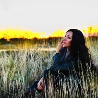 Осенний закат :: Елена Нешитая