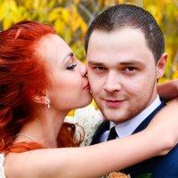 Осенний поцелуй :: Наталия Казакова