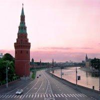 Москва. Рассвет :: Lika Shakhmatova