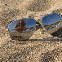 песок и очки :: Анна Череватая