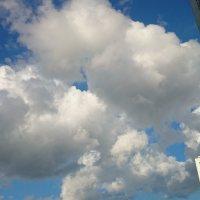 облака над мегаполисом :: Максим Зорев