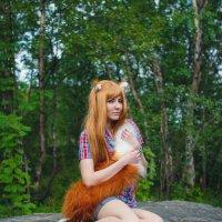 Fox girl :: Andrey Khvorov