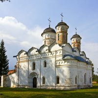 В Ризоположенском монастыре :: Татьяна Петранова