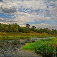 небо над Москвой рекой :: Дмитрий Анцыферов