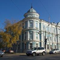 Пермь. Здание бывшего поземельного банка :: Дмитрий Зубенин
